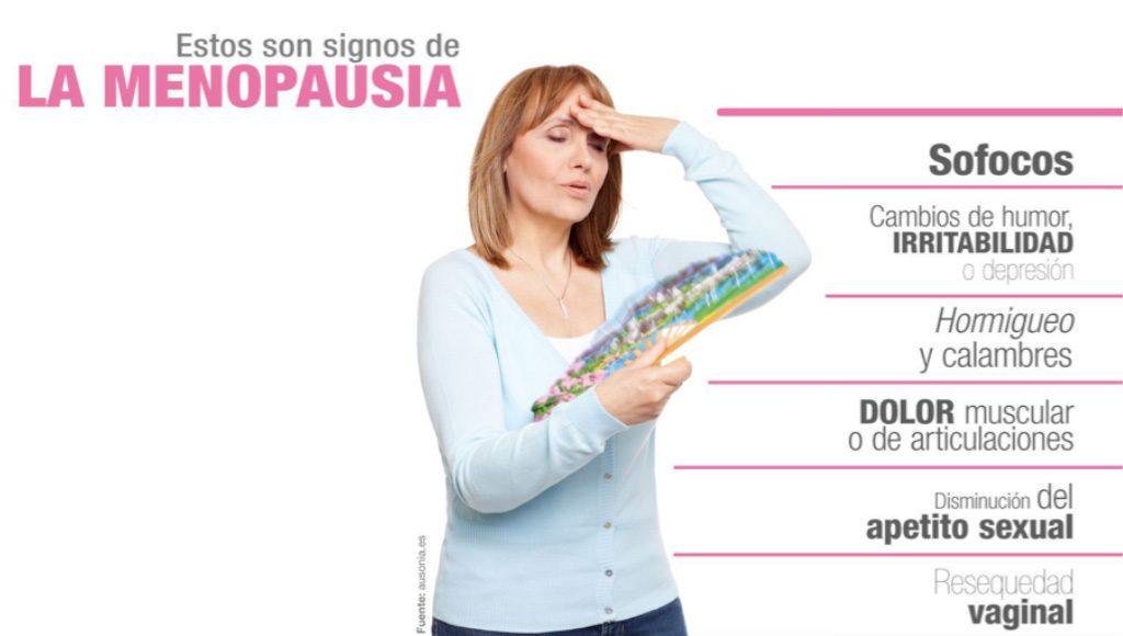 signos de la manopausia